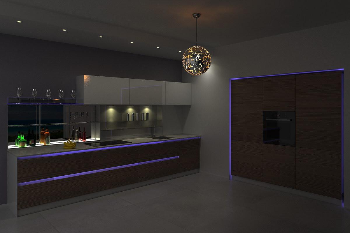 3D визуализация - Кухня