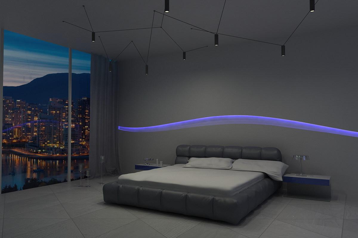 3D визуализация - Спальня