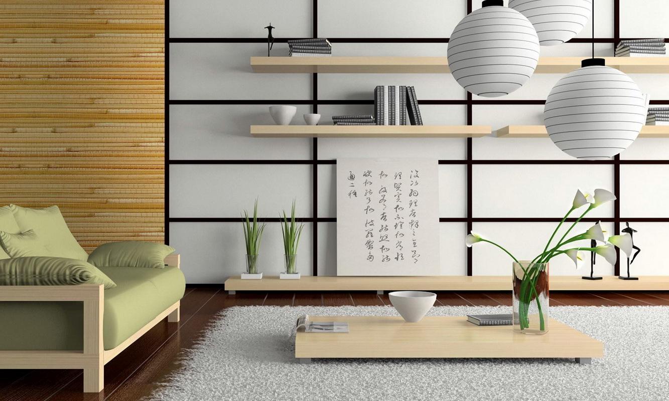 Дизайн интерера в стиле - ЯПОНСКИЙ